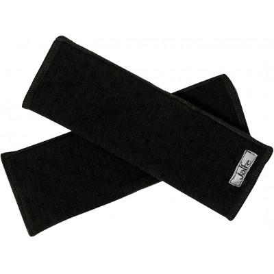 Wrist warmers wool, black
