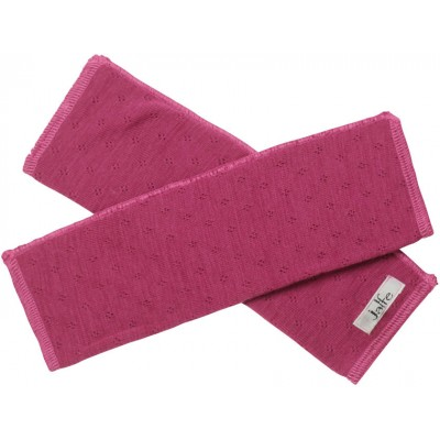 Wrist warmers wool, cerise
