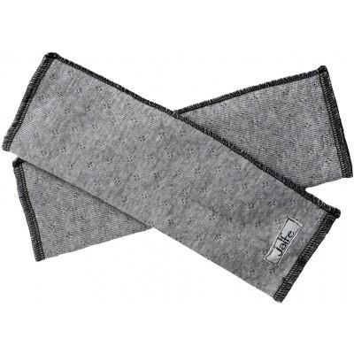 Wrist warmers wool melange, grey