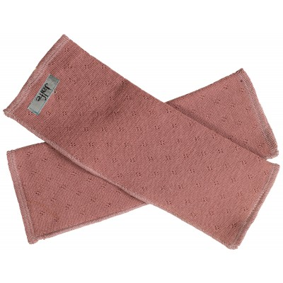 Wrist warmers wool, rose