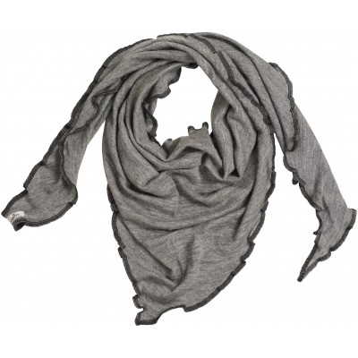 Scarf wool melange, grey