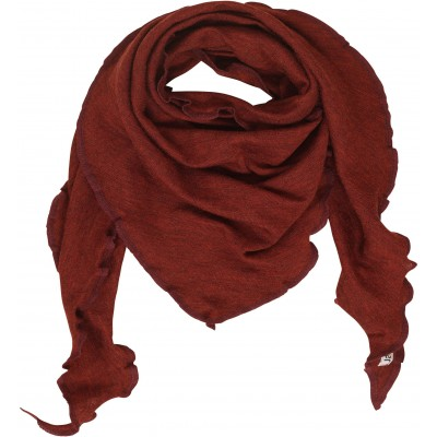 Scarf wool melange, autumn