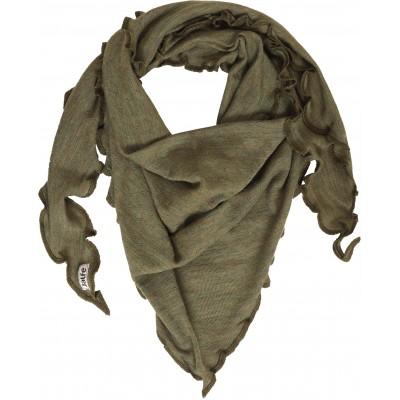 Scarf wool melange, olive