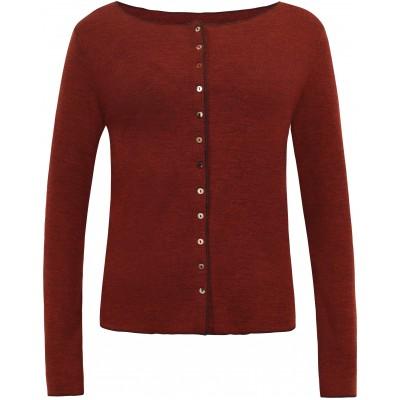 Cardigan wool melange, autumn
