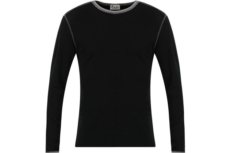 Men´s shirt wool, black