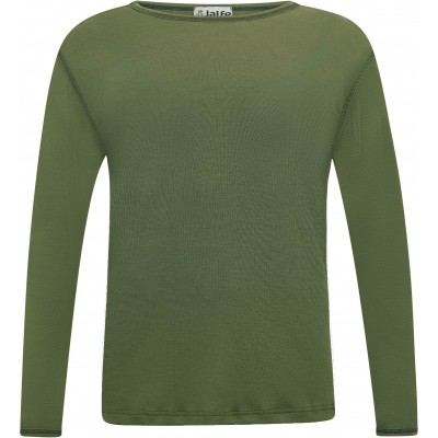 Men´s shirt wool, dark green