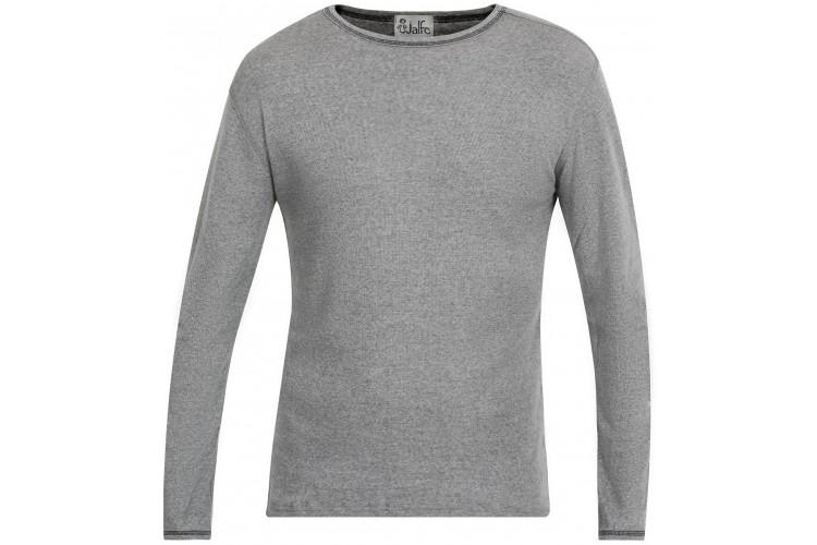 Men´s shirt wool melange, grey