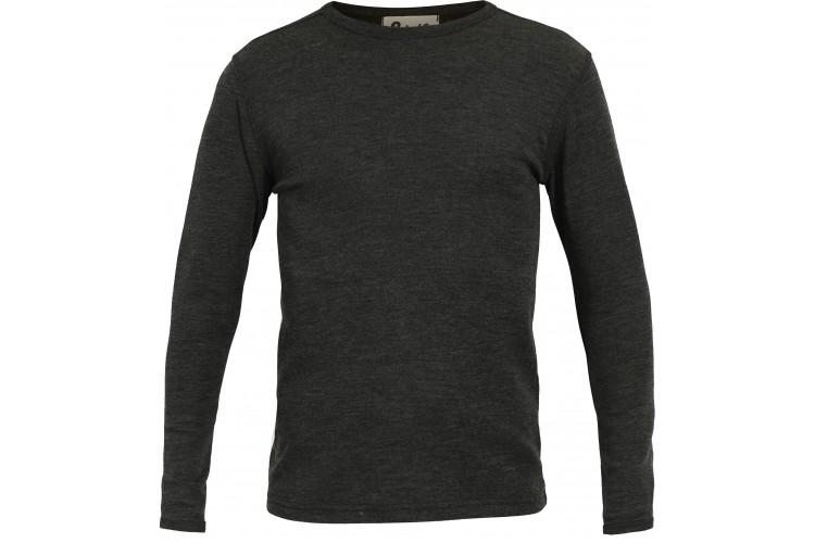 Men´s shirt wool melange, anthracite