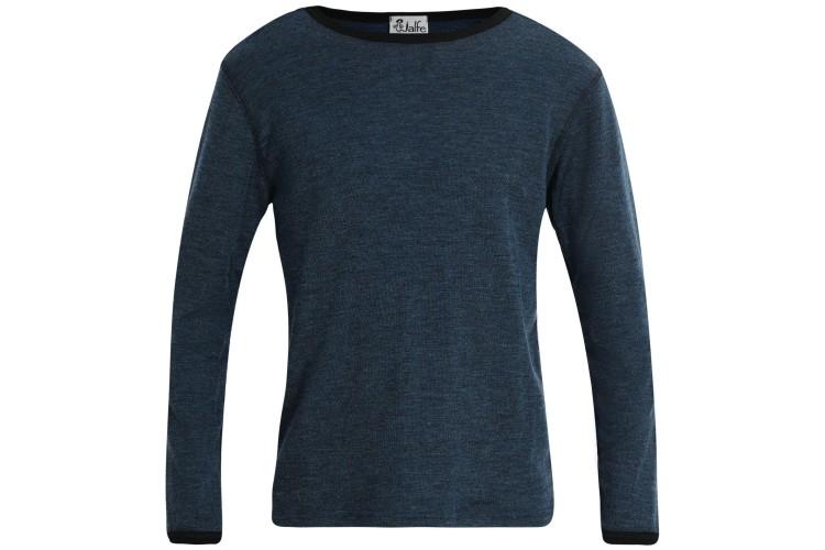 Men´s shirt wool melange, petrol