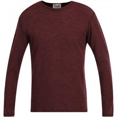Men´s shirt wool melange, plum