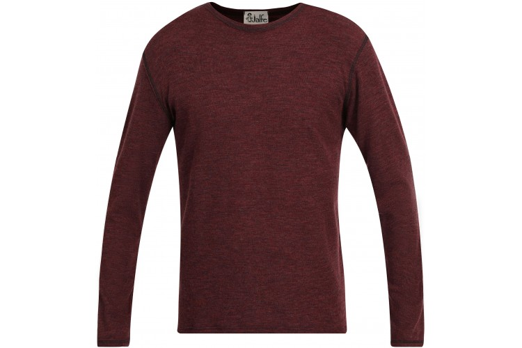 Men´s shirt wool melange, plum