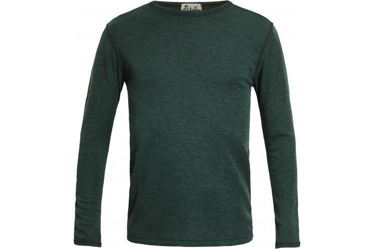 Men´s shirt wool melange, forest