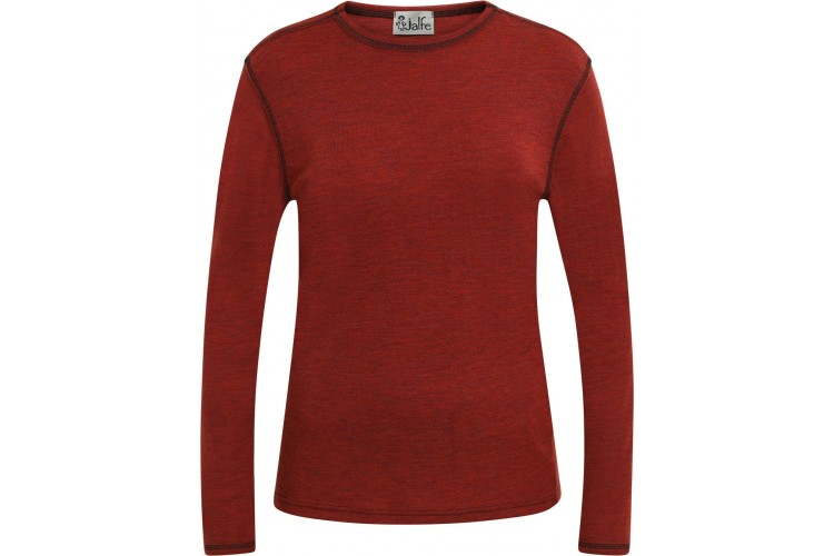 Men´s shirt wool melange, rust