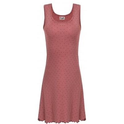 Basic dress wool dots, rose