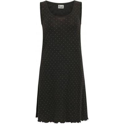 Basic dress wool dots, anthracite