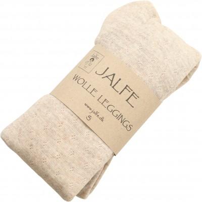 Leggings wool melange, undyed