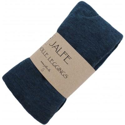 Leggings wool melange, petrol