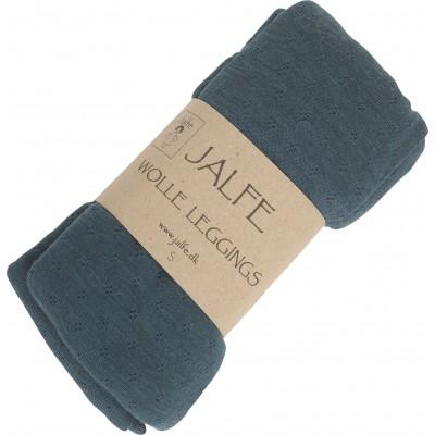 Leggings wool melange, cipresso