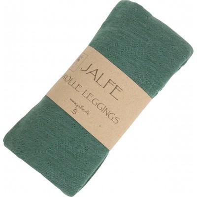 Leggings wool melange, emerald
