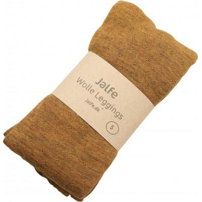 Leggings wool melange, mustard