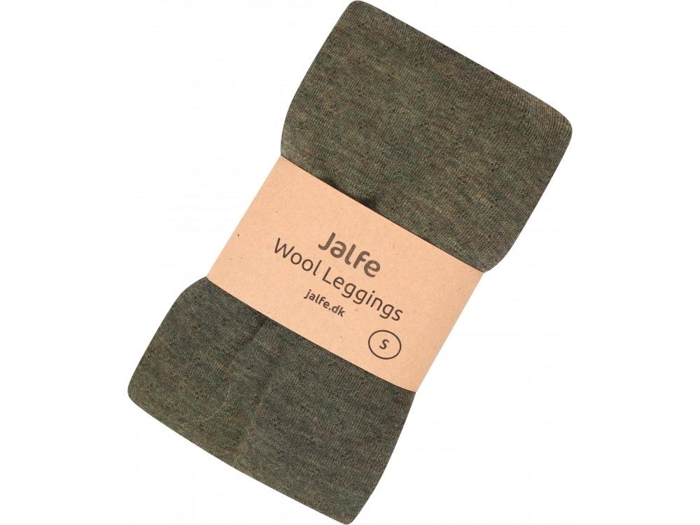 Leggings wool melange, pinetree