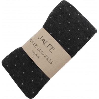 Leggings wool dots, anthracite