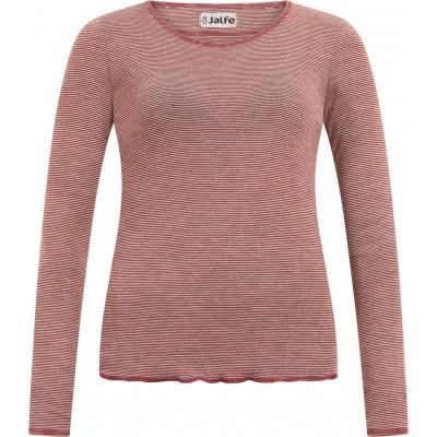 Shirt wool fine stripes, autumn-undyed