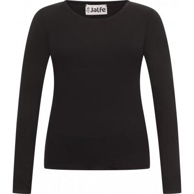 Shirt wool, black