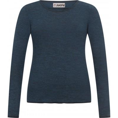 Shirt wool melange, petrol
