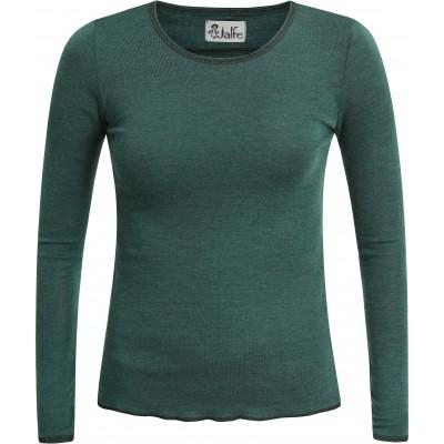 Shirt wool melange, forrest