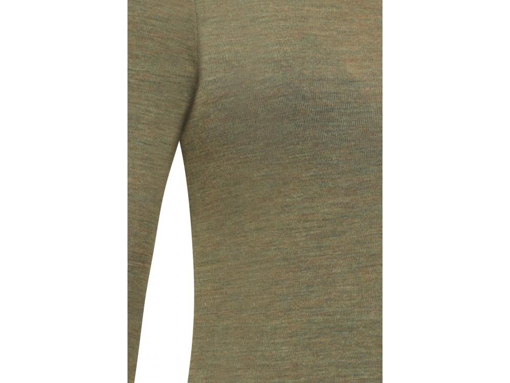 Shirt wool melange, olive