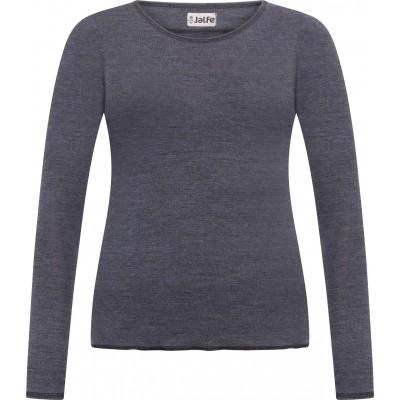 Shirt wool melange, denim