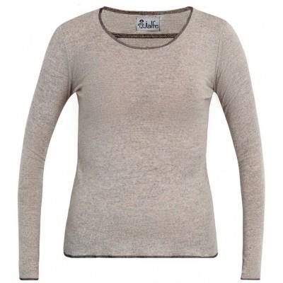 Shirt wool melange, undyed