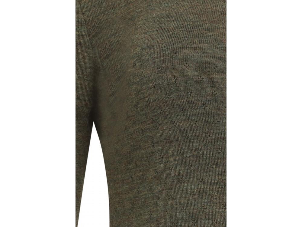 Shirt wool melange, pinetree