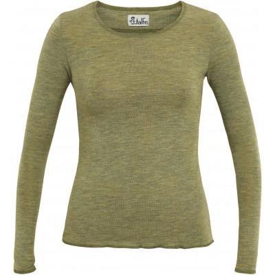 Shirt wool melange, light green XS