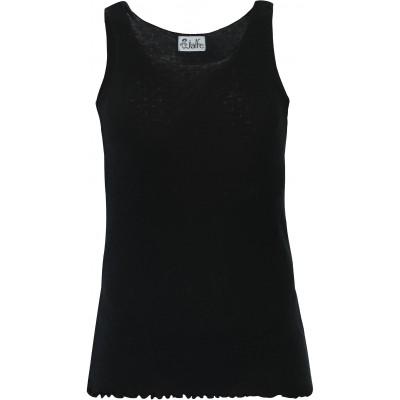 Top wool, black