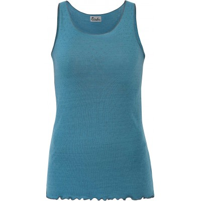 Top wool, turquoise