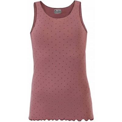 Top wool dots, rose