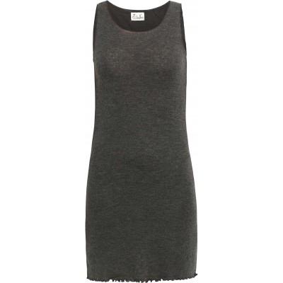 Long wool melange, anthracite