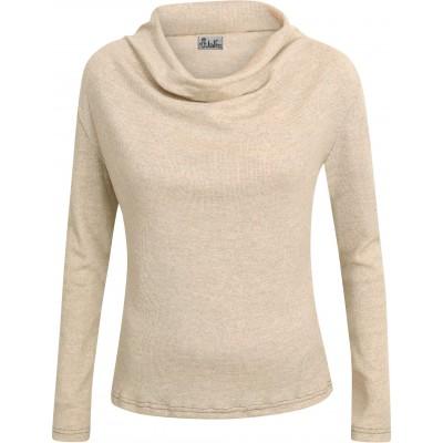 Waterfall shirt wool rib, undyed