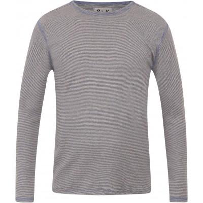 Men´s shirt organic cotton stripes,  lavender-blue
