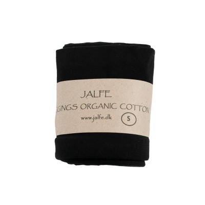 Leggings 3/4  organic cotton,  black