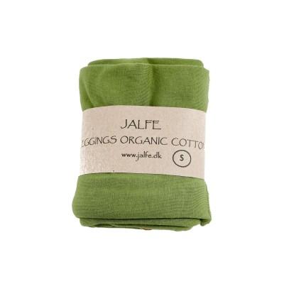 Leggings 3/4  organic cotton,  green