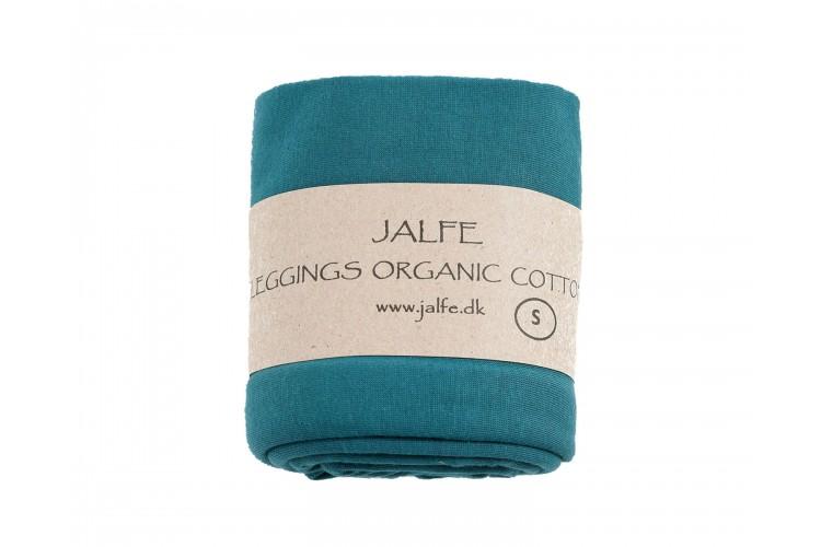 Leggings 3/4  organic cotton,  turquoise