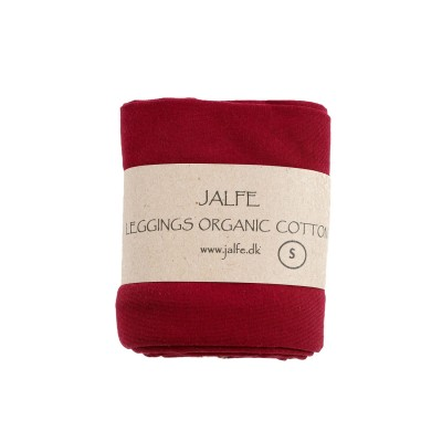 Leggings 3/4  organic cotton,  wine red