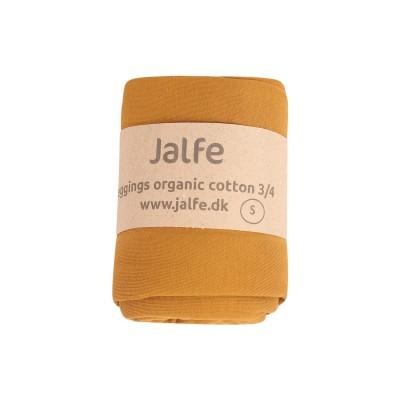 Leggings 3/4  organic cotton,  mustard