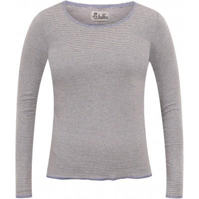 Shirt organic cotton stripes,  lavender-undyed