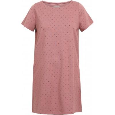 Dress/tunic organic cotton dots,  rose