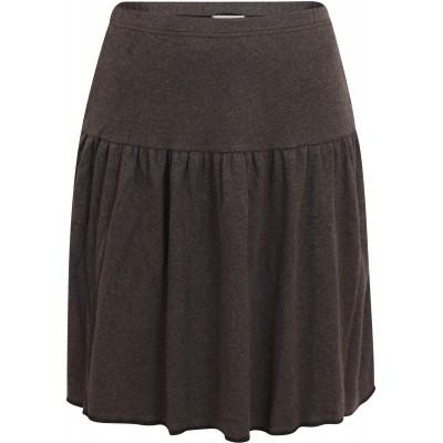 Skirt organic cotton ,  anthracite
